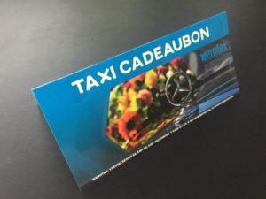 taxi cadeaubon